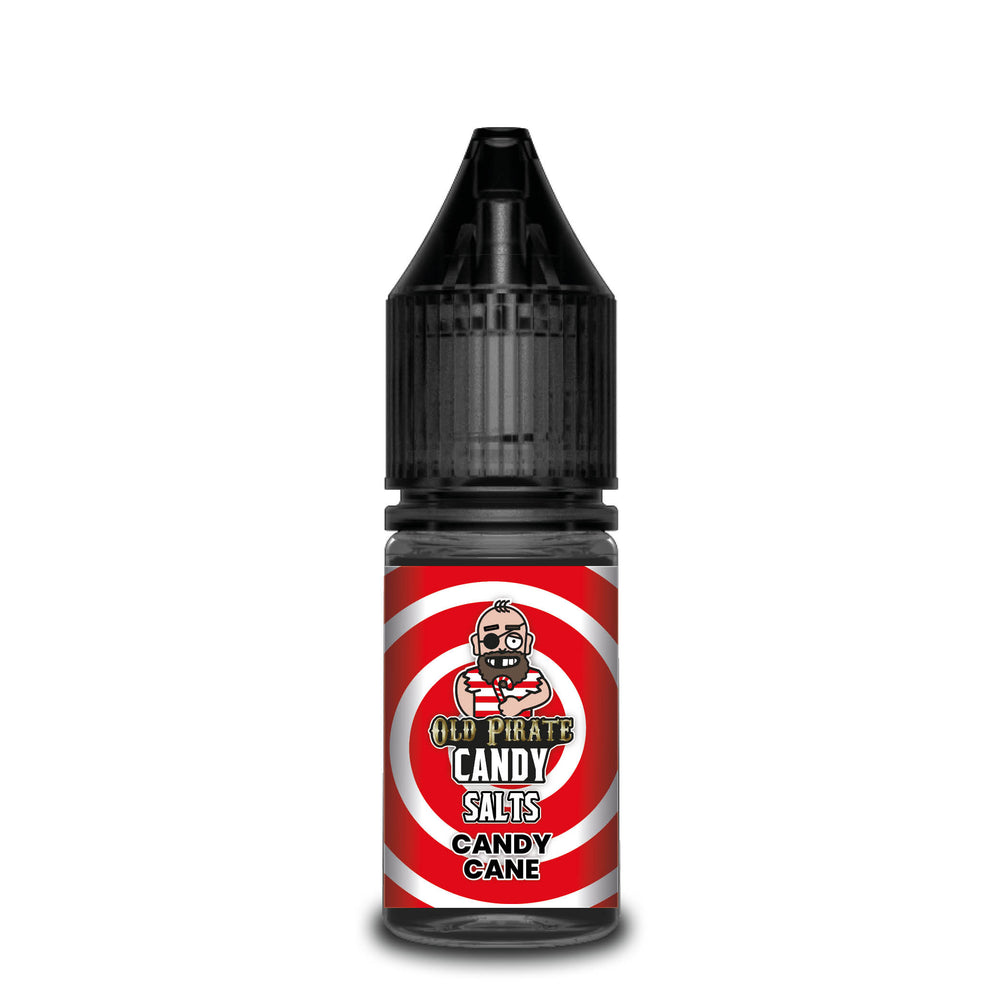 Old Pirate Candy Salt 10ml Candy Cane (Box of 10)