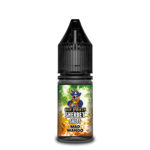 Old Pirate Sherbet Salts 10ml Mad Mango (Box of 10)