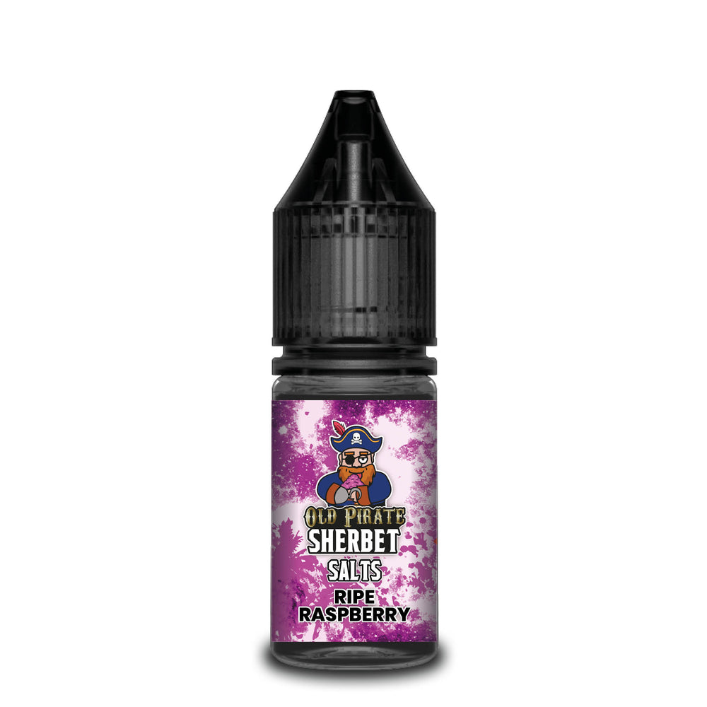 Old Pirate Sherbet Salts 10ml Ripe Raspberry (Box of 10)