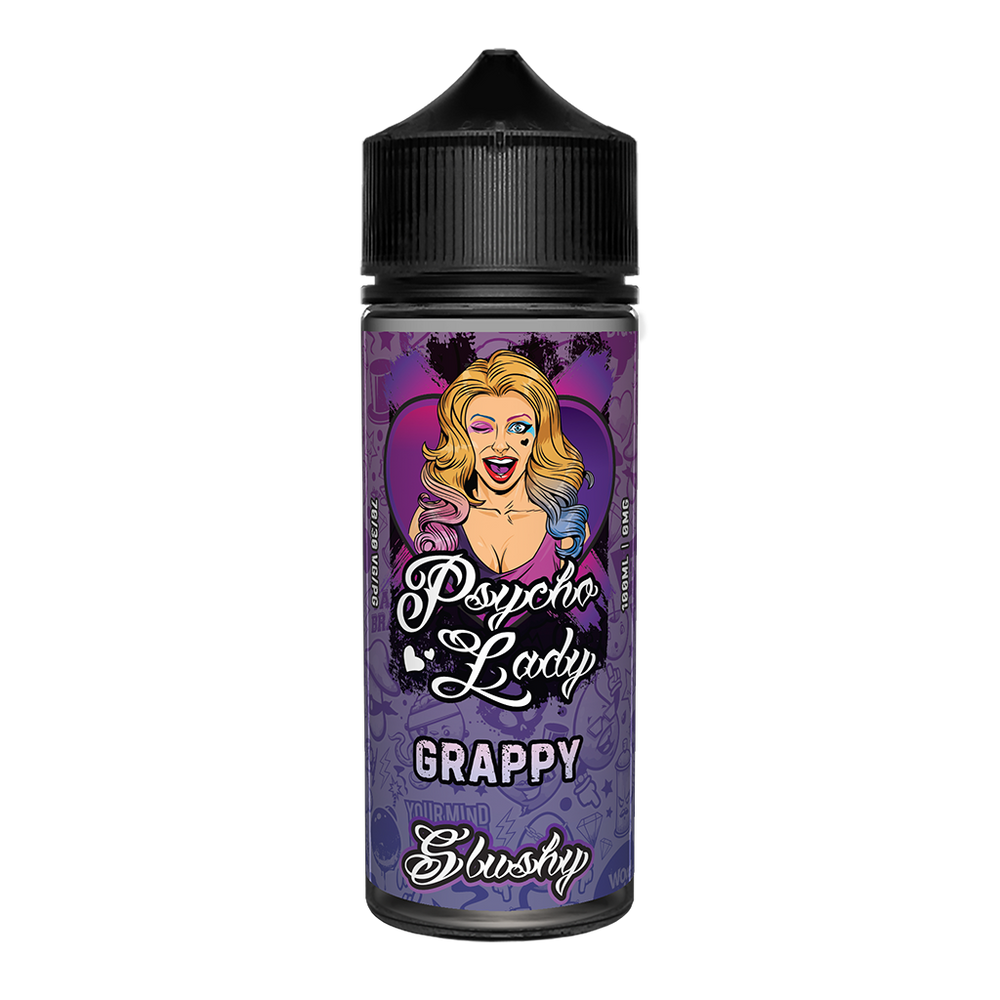 Grappy 100ml Psycho Lady Slushy