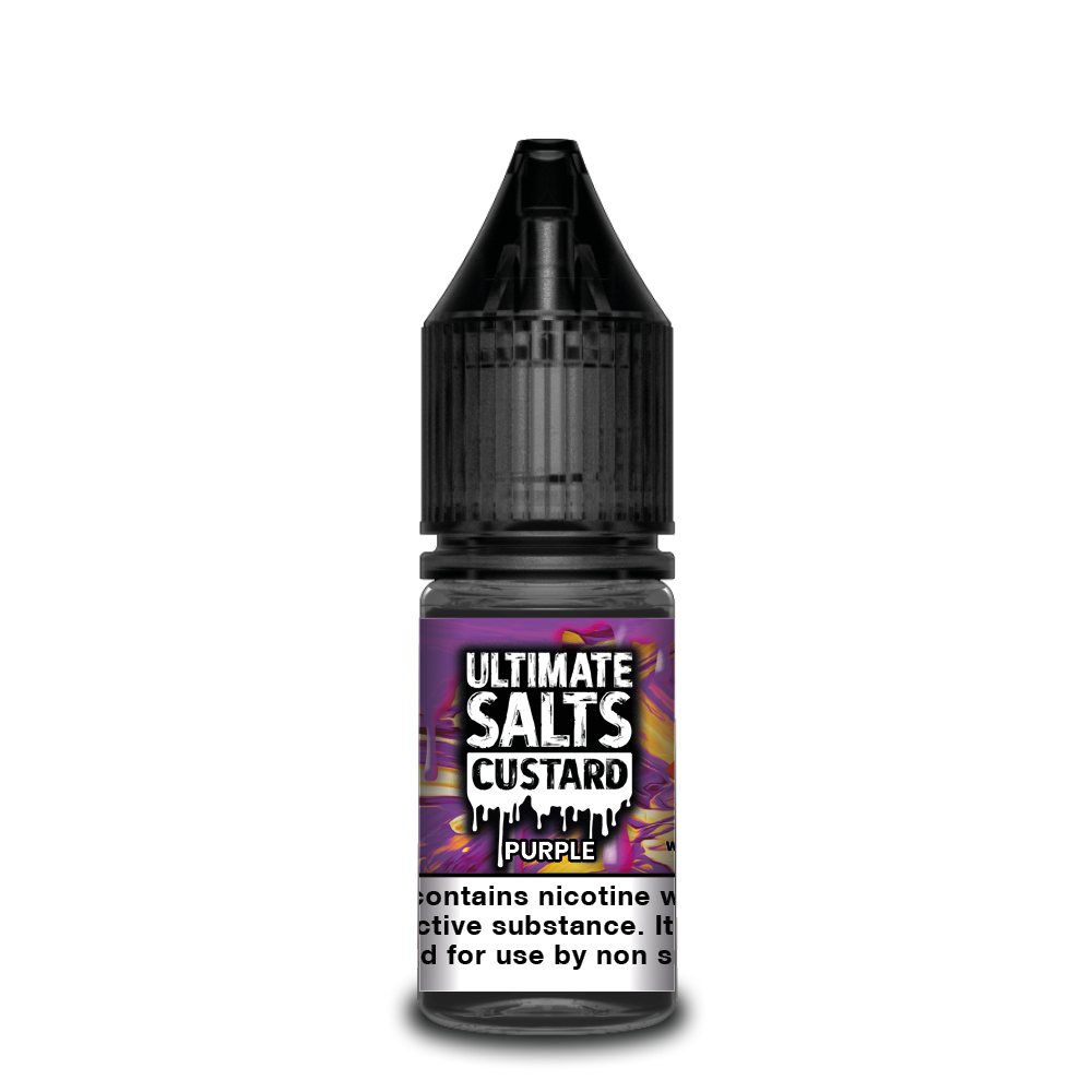 Ultimate Salts Custard 10ml Purple (Box of 10)
