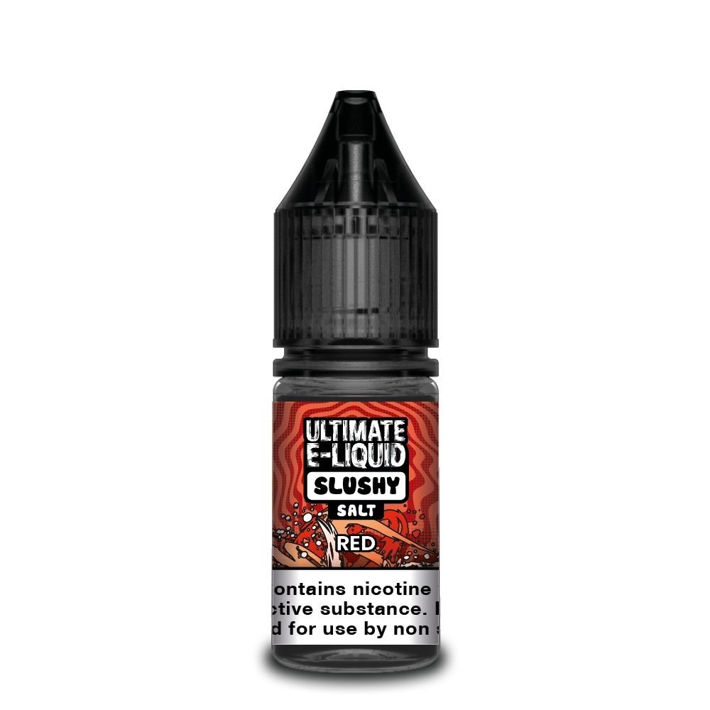 Ultimate E-liquid Slushy Salt 10ml Red (Box of 10)