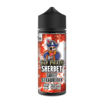 Old Pirate Sherbet 100ml Short Fill Sweet Strawberry