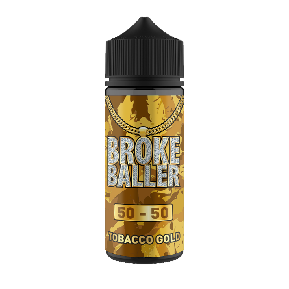 Broke Baller 80ml Tobacco Gold