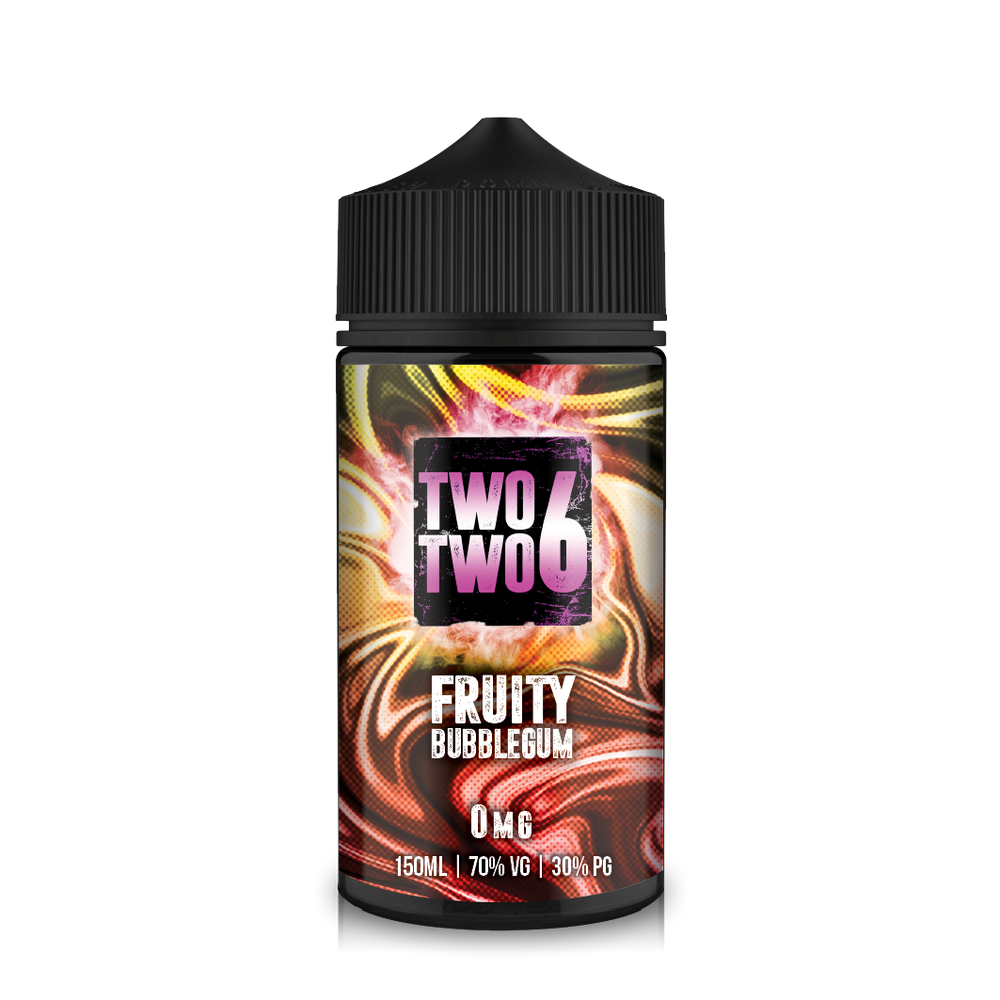 226 Bubblemix 150ml Fruity Bubblegum Short–fill