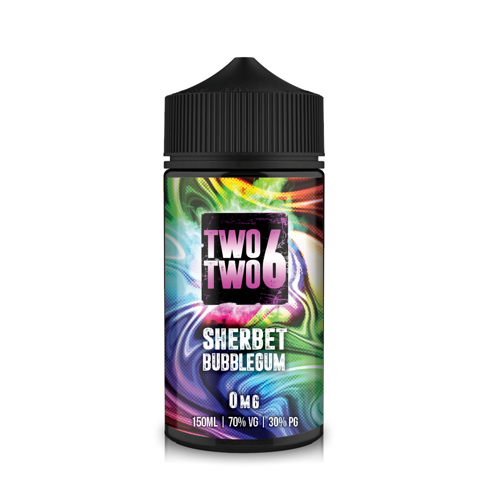 226 Bubblemix 150ml Sherbet Bubblegum Short–fill