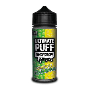 Ultimate Puff Candy Drops Lemon & Sour Apple 100ml Short–fill