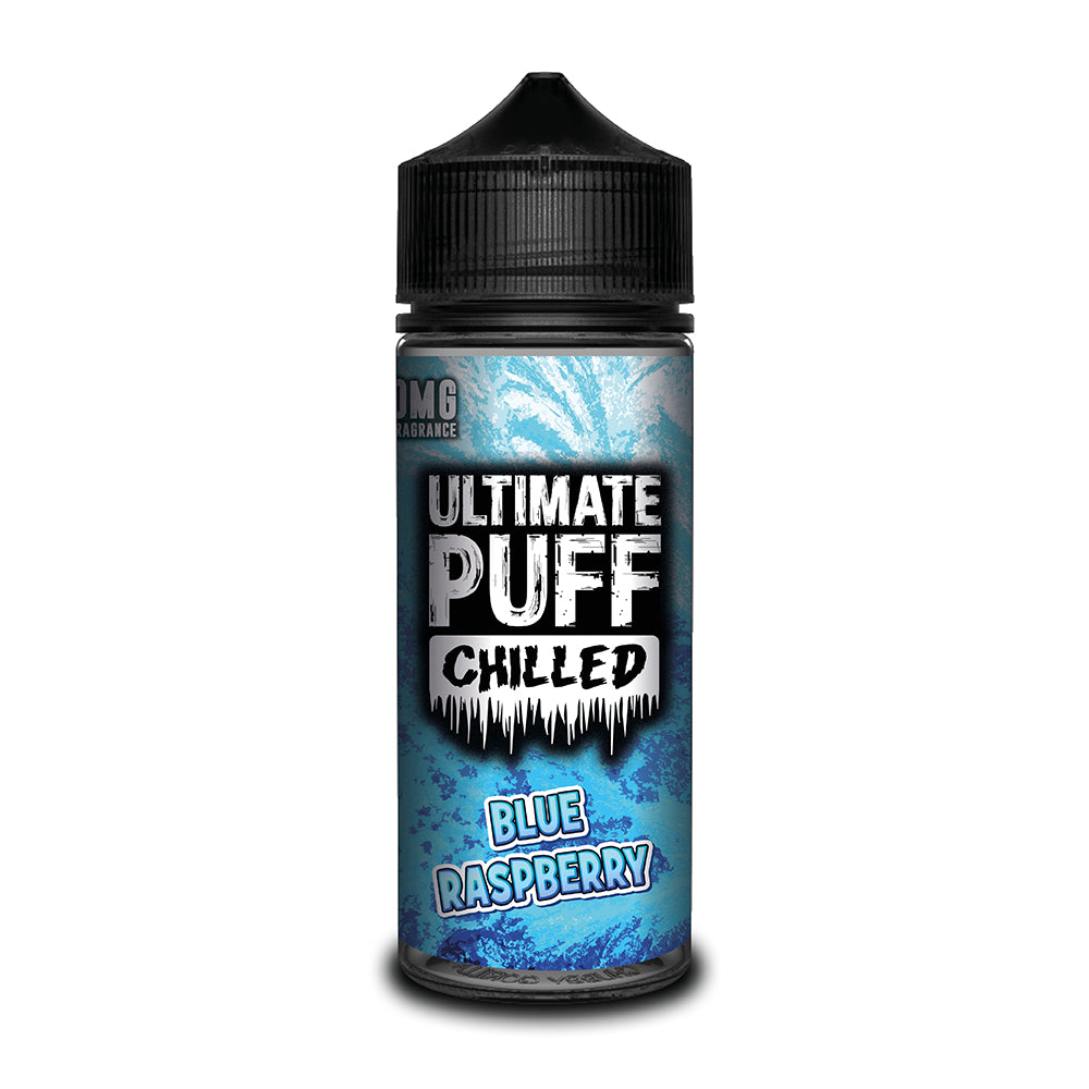 Ultimate Puff Chilled Blue Raspberry 100ml Short–fill