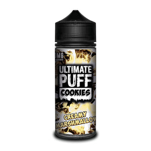 Ultimate Puff Cookies - Creamy Marshmallow 100ml Short–fill