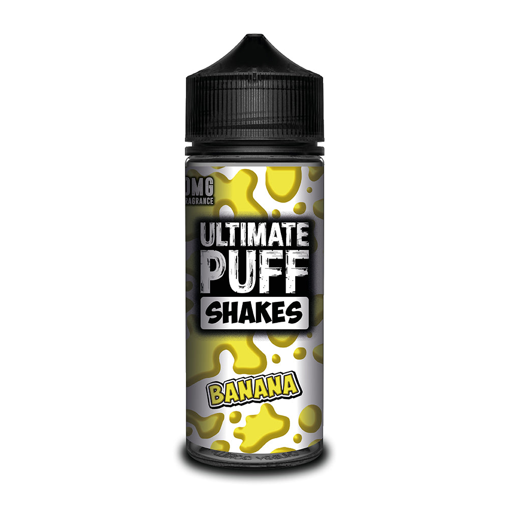 Ultimate Puff Shakes - Banana 100ml Short–fill