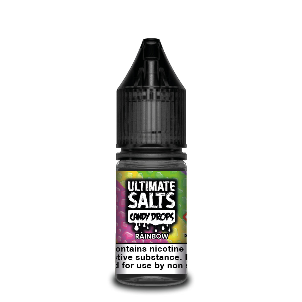 Ultimate Salts Candy Drops 10ml Rainbow (Box of 10)