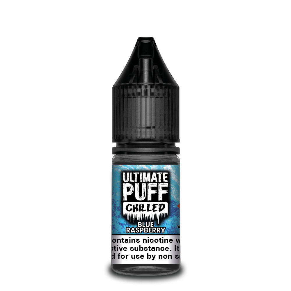 Blue Raspberry 10ml Ultimate Puff 50/50 (Box of 10)