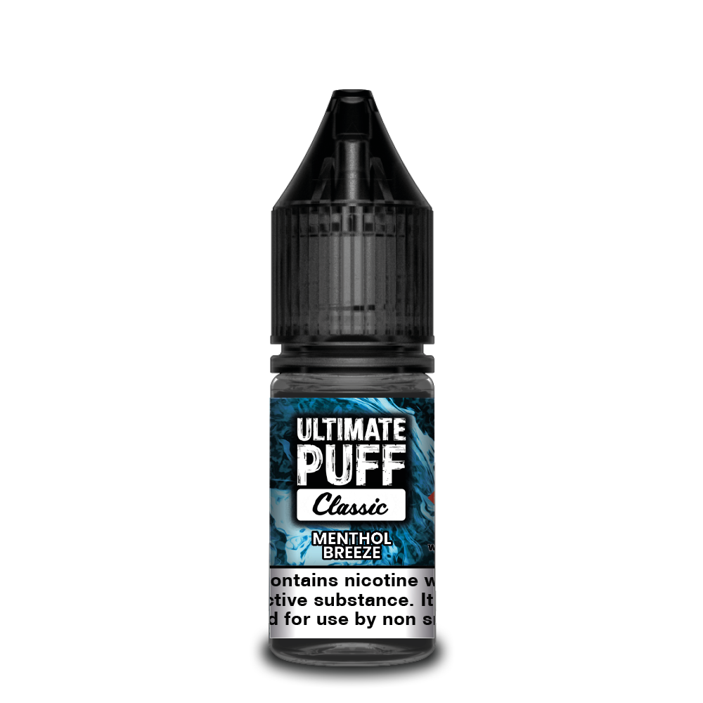 Menthol Breeze 10ml Ultimate Puff 50/50 (Box of 10)