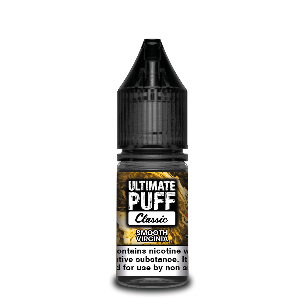 Smooth Virginia 10ml Ultimate Puff 50/50 (Box of 10)