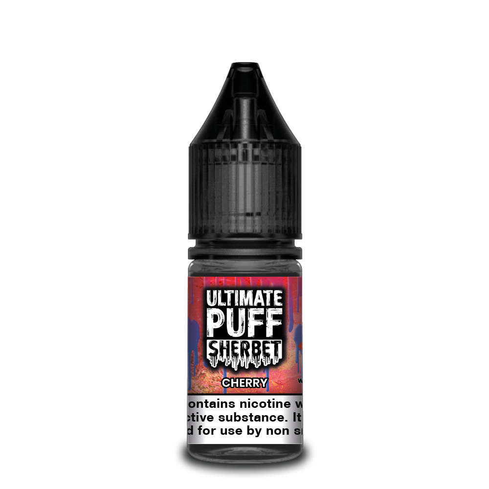 Cherry 10ml Ultimate Puff 50/50 (Box of 10)