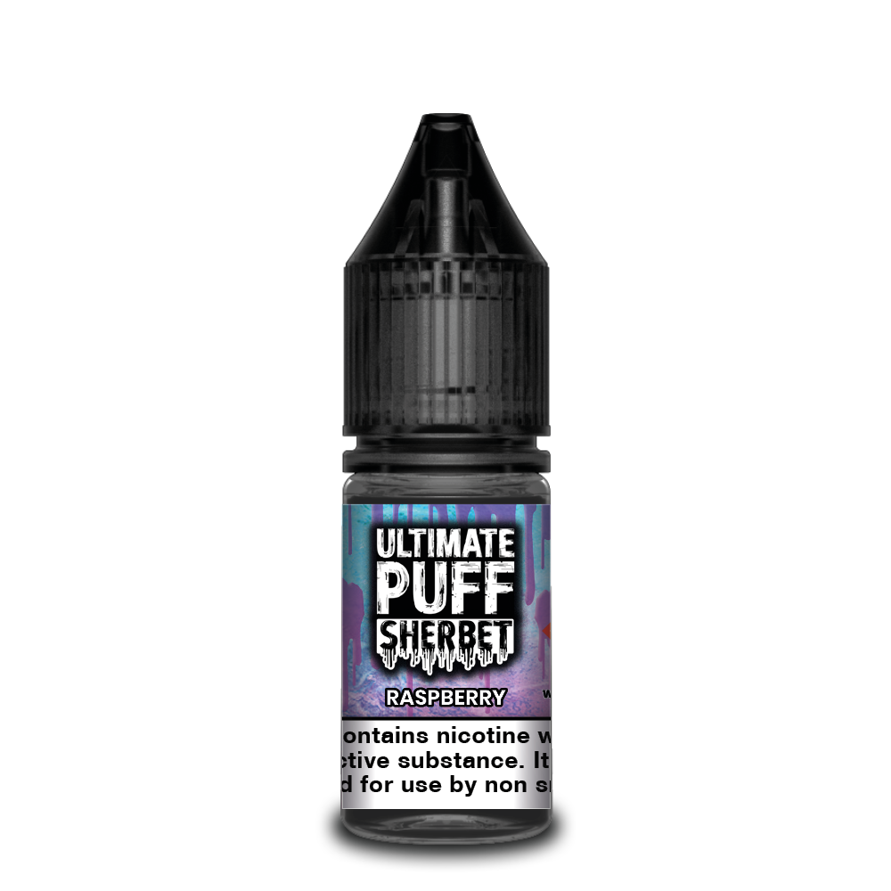 Raspberry 10ml Ultimate Puff 50/50 (Box of 10)