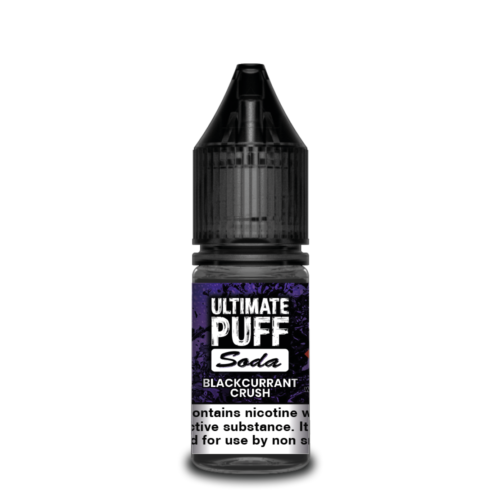 Blackcurrant Crush 10ml Ultimate Puff 50/50 (Box of 10)