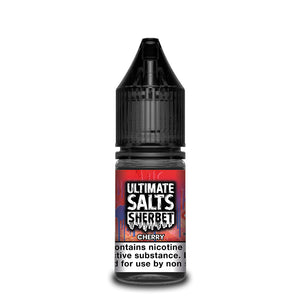 Ultimate Salts Sherbet 10ml Cherry (Box of 10)