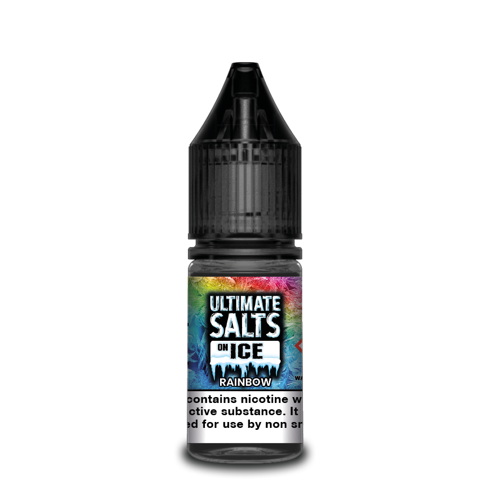 Ultimate Salts On Ice 10ml Rainbow (Box of 10)