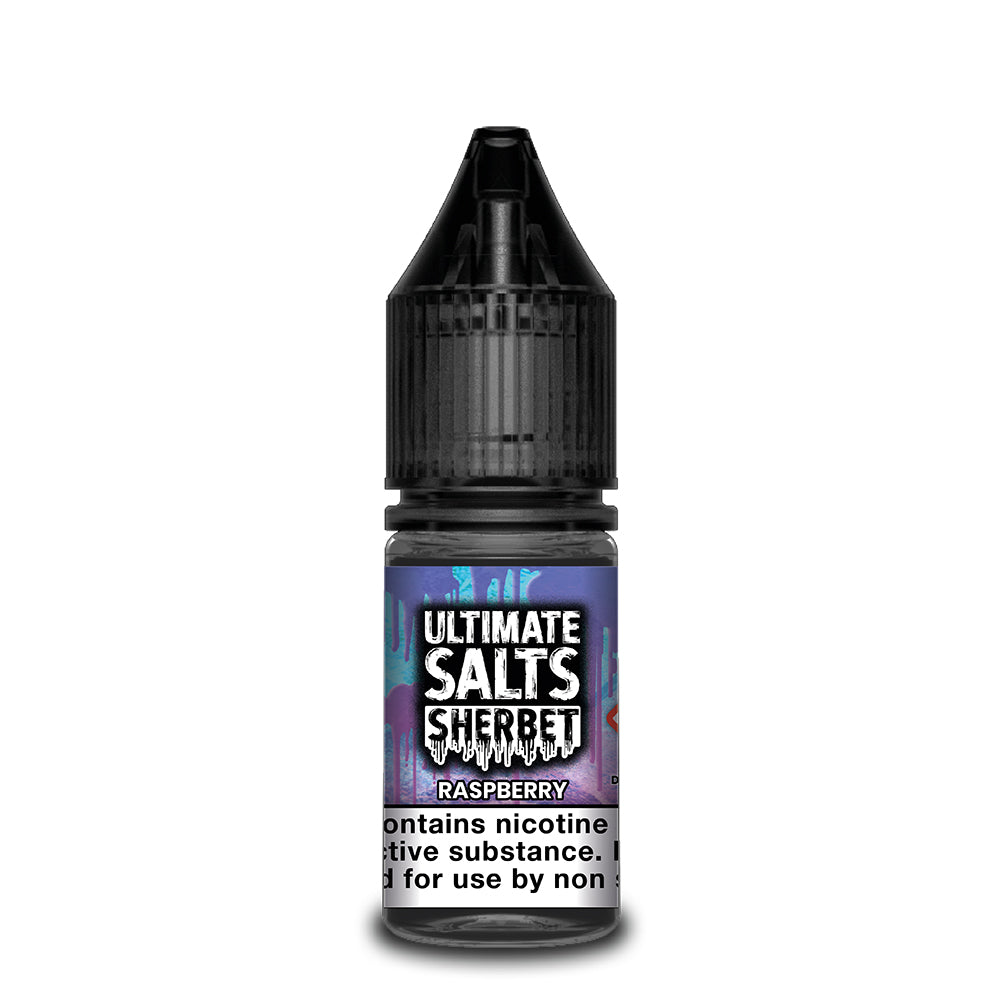 Ultimate Salts Sherbet 10ml Raspberry (Box of 10)
