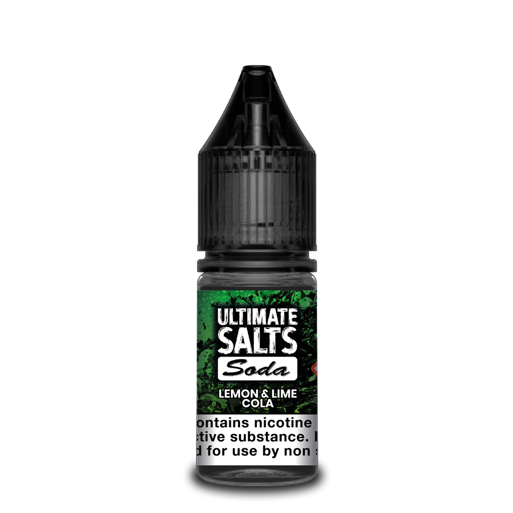 Ultimate Salts Soda 10ml Lemon & Lime Cola (Box of 10)