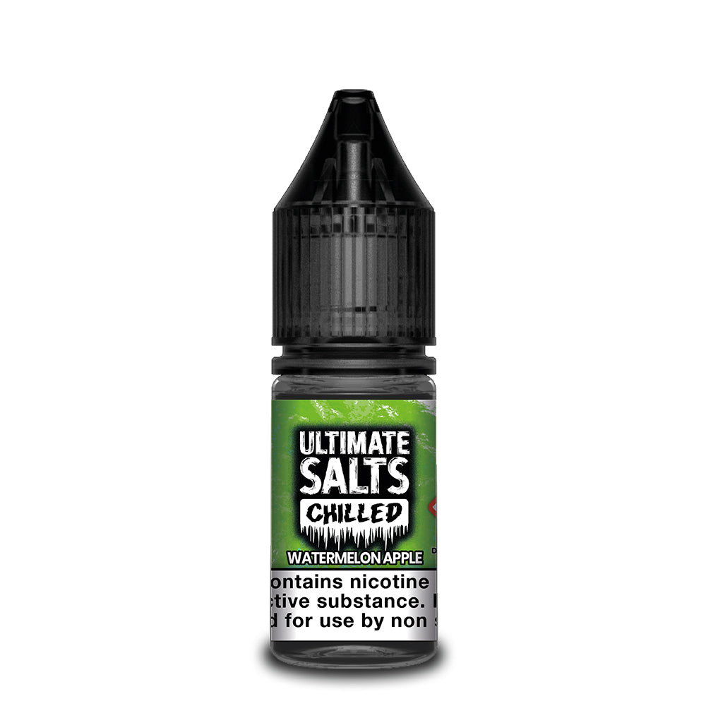 Ultimate Salts Chilled 10ml Watermelon Apple (Box of 10)