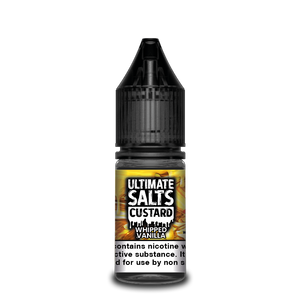 Ultimate Salts Custard 10ml Whipped Vanilla (Box of 10)