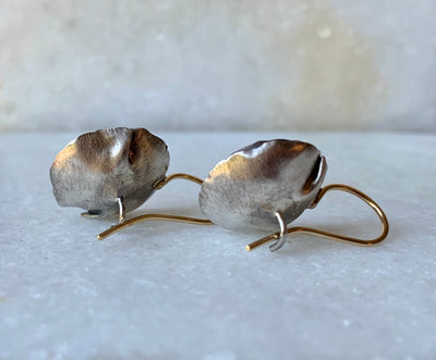 Buttercup Earrings with 18k