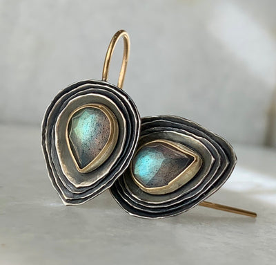 Teardrop Cusp Earrings