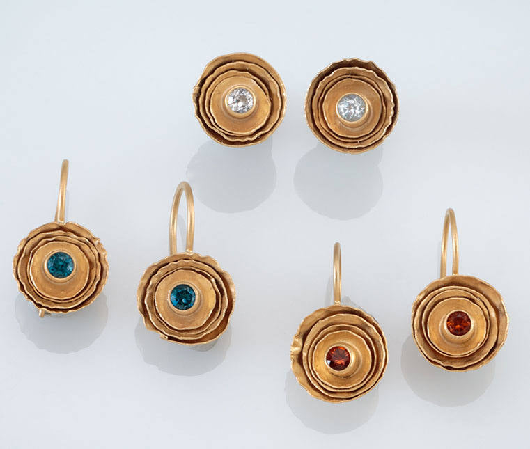 Birch Earrings in Vermeil