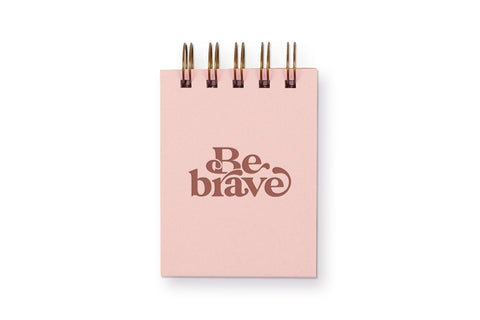 Be Brave Mini Jotter