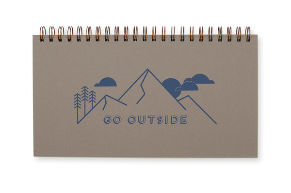 Go Outside Desk Planner