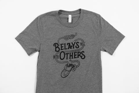 Belays Well With Others Tee