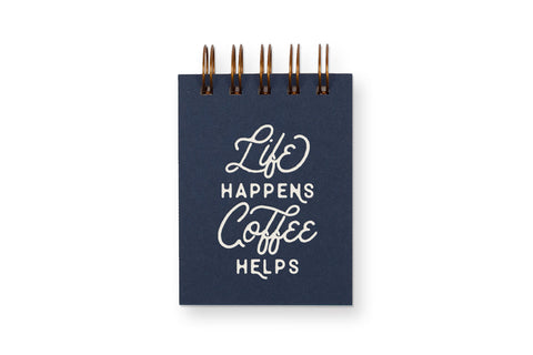 Life/Coffee Mini Jotter