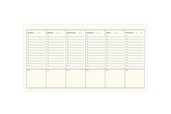 To Do Simple Desk Planner
