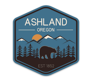 Blue Ashland Sticker