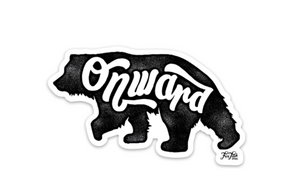 Onward Sticker