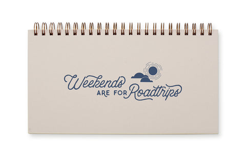 Weekend Roadtrips Desk Planner