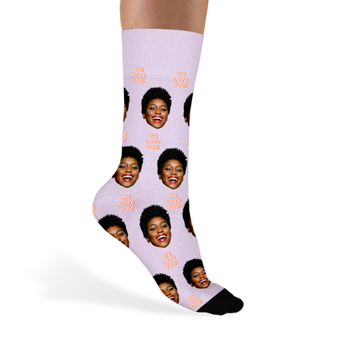 Custom Mother's Day Socks - Sock Club Face Socks