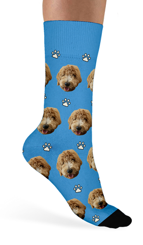 Custom Dog Socks - Sock Club Face Socks