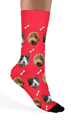 Custom Pet Socks - Sock Club Face Socks