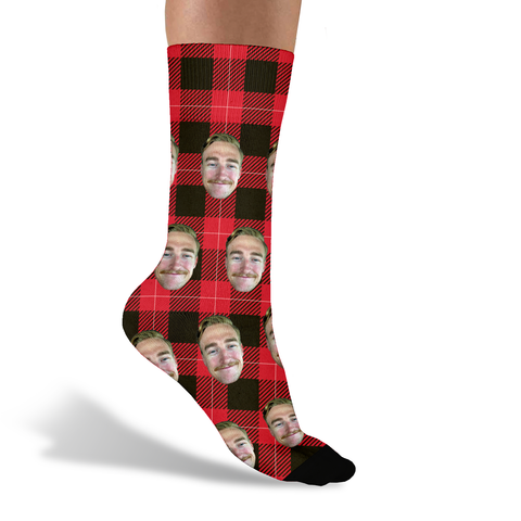 Holiday Socks - Sock Club Face Socks