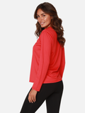 Women's UPF-50 Protective Sun shirt in Red