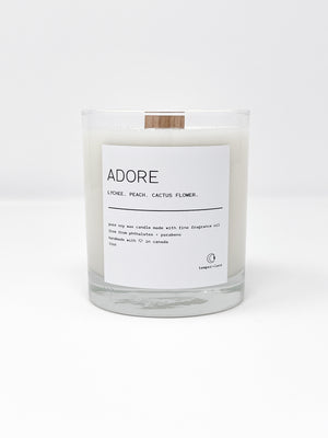 Adore - Temper + Lace Candles