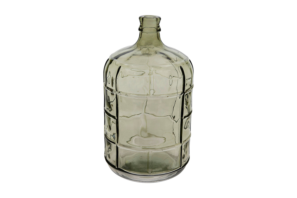 Medium Green Vintage Reproduction Bottle