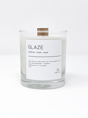 Glaze - Temper + Lace Candles