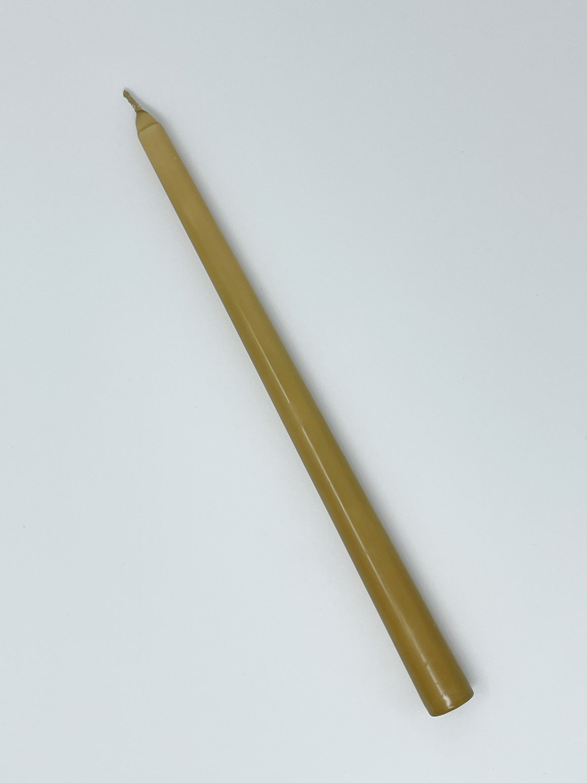 "Honey 12"" Taper Candle"