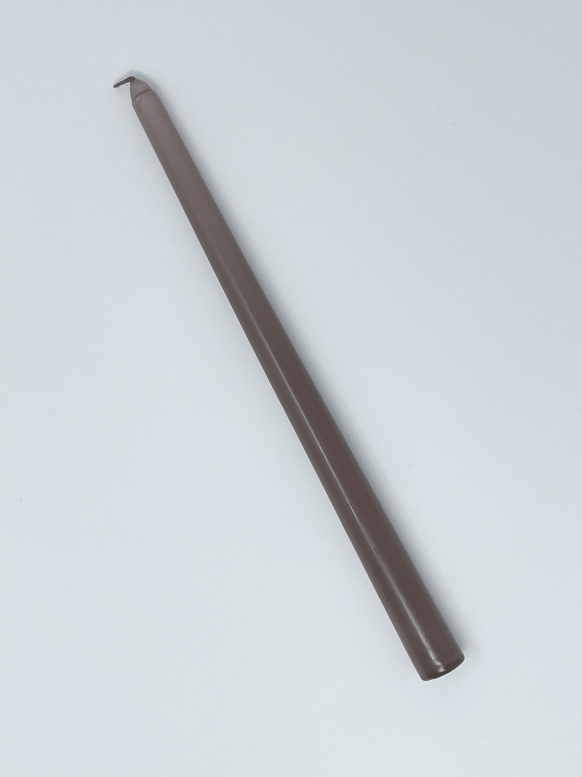 "Rose Taupe 12"" Taper Candle"