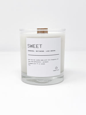 Sweet - Temper + Lace Candles