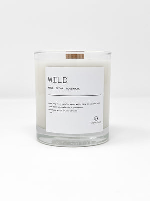 Wild - Temper + Lace Candles